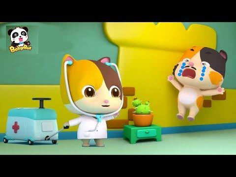 Gatita Mimi Es Doctora | Canciones Infantiles | Oficios y Profesiones Para Ni帽os | BabyBus Espa帽ol