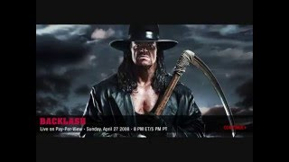 wwe Backlash 2008 Official Theme Song