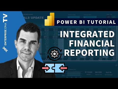 Integrated Financial Reporting - Power BI Techniques For Accounting & Finance