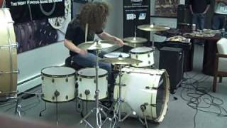 John Fred Young Drum Solo