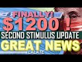 CONFIRMED! SECOND STIMULUS CHECK | SSI & SSDI SS SSA Veterans ! | Second Stimulus Package GREAT NEWS