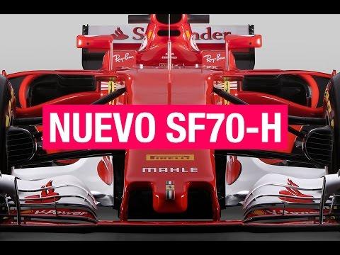 FERRARI SF70-H, así es el nuevo F1 de Vettel y Raikkonen | SOYMOTOR.COM