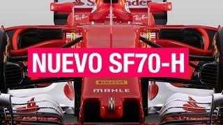 FERRARI SF70-H, así es el nuevo F1 de Vettel y Raikkonen   SOYMOTOR.COM