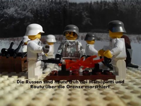 "WW2 Lego ""1939 Russo-Finnish Winter War"""