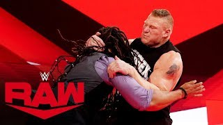 Brock Lesnar mauls Dio Maddin: Raw, Nov. 4, 2019