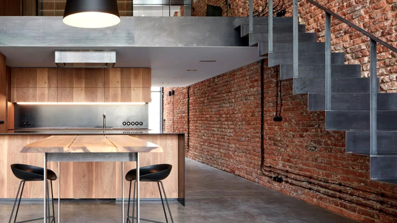 11 Industrial Kitchen / Interior Design Ideas