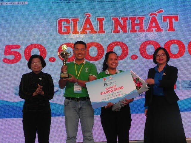 Mật hoa dừa Sokfarm đoạt giải nhất cuộc thi Dự án khởi nghiệp sáng tạo thanh niên nông thôn 2020