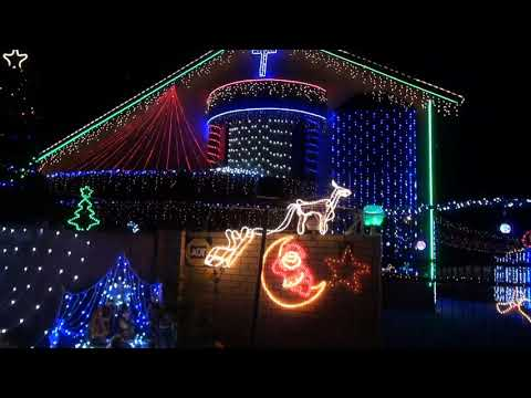 Christmas lights 2013 in Richards Bay
