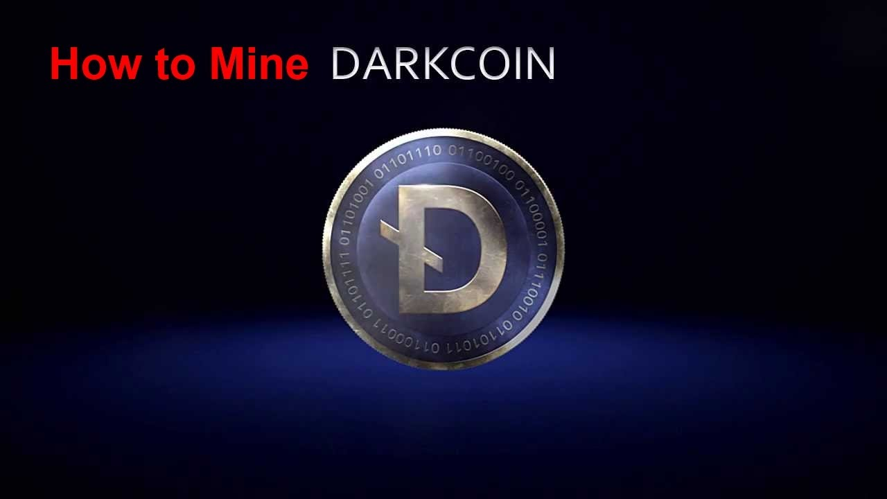 How To Mine Darkcoin  The Gui Friendly Simple Way Of Mining Dark Coin