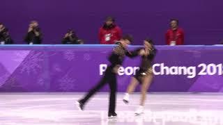 JO 2018 4k video : TESSA VIRTUE ET Jeux SCOTT MOIR SACRÉS OLYMPIQUES DE DANSE SUR GLACE