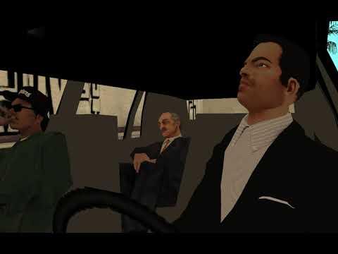 SINDACCOS VS LEONE - THE DRIVE BY - GTA San Andreas Modded Cutscenes - Drive Thru