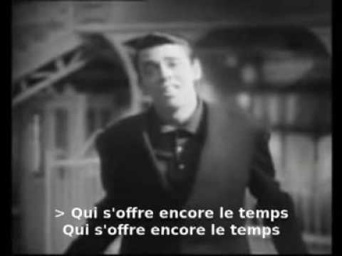 Jacques Brel - Une valse a mille temps (with lyrics for karaoke)