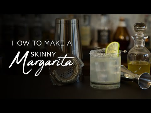 How to REALLY make a Skinny Margarita