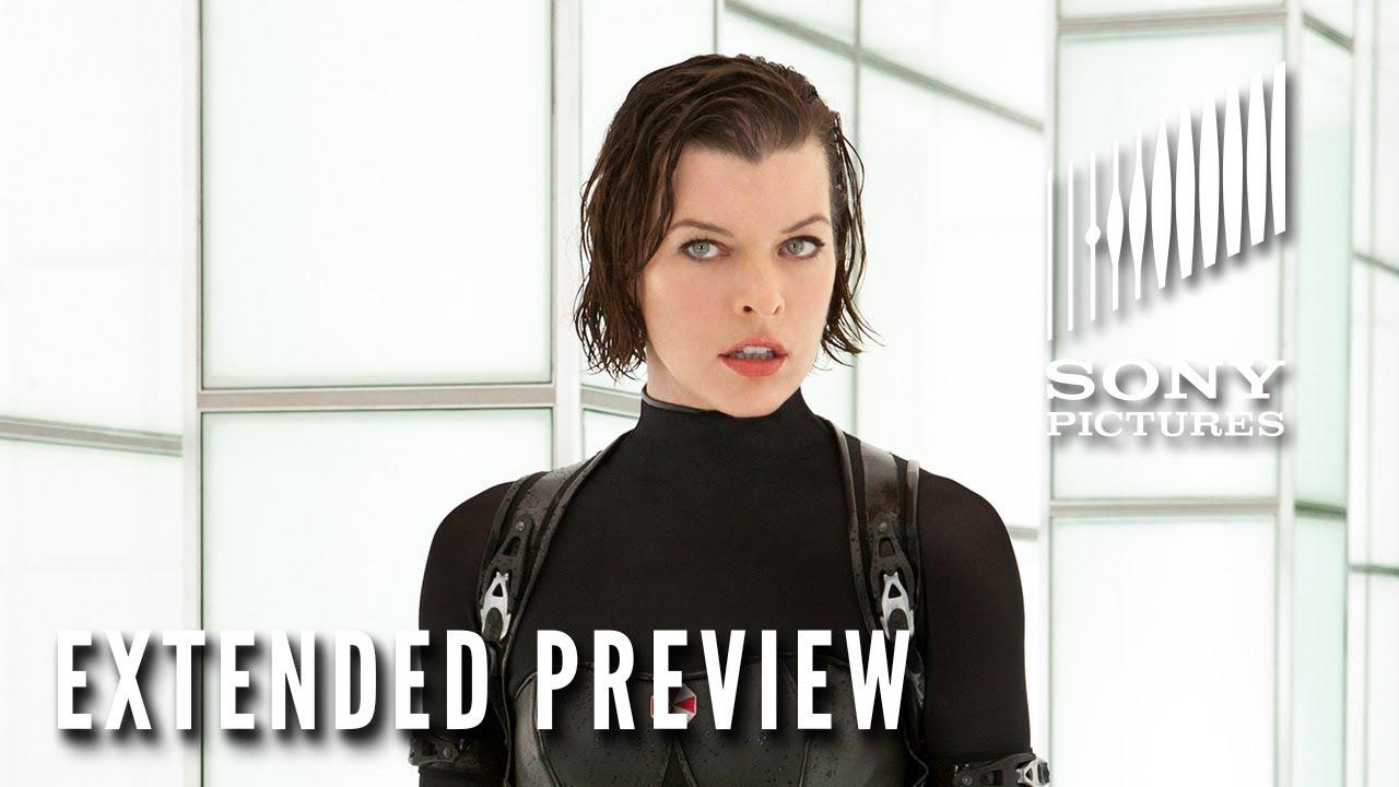 RESIDENT EVIL: RETRIBUTION (2012) – Extended Preview