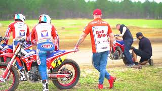 Honda USA & Turner Racing Flat Track Team