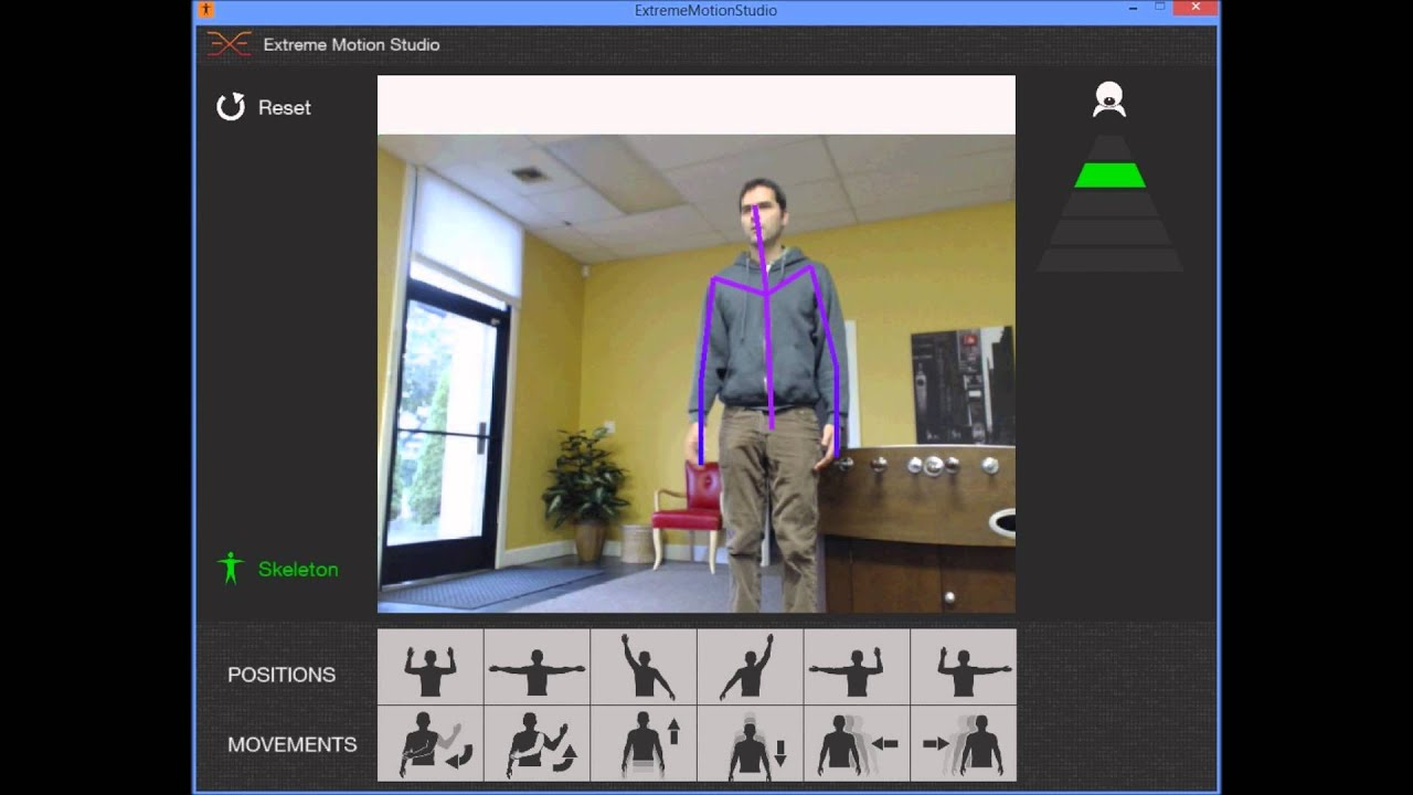 Motion Tracking with webcam