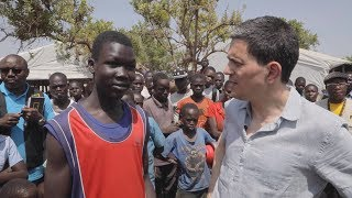 David Miliband Visits Refugees Fleeing A Near-Famine In South Sudan
