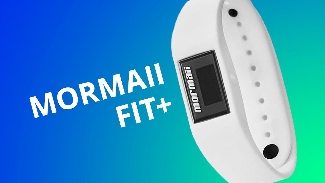 70f804e7ff2 Mormaii Fit+ - um relógio inteligente que monitora seus movimentos   Análise  - YouTube