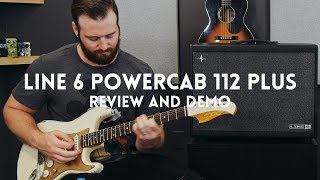 Line 6 Powercab 112 Plus review & demo // Sounds like an amp in the room!