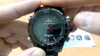 видео Спортивные мужские часы