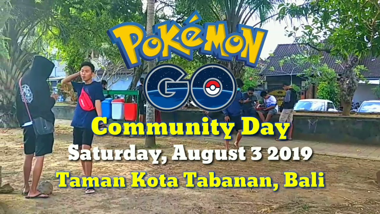 Community Day Ralts Everywhere! August 3 2019, Taman Kota Tabanan, Bali -  Browind PokemonGO #3