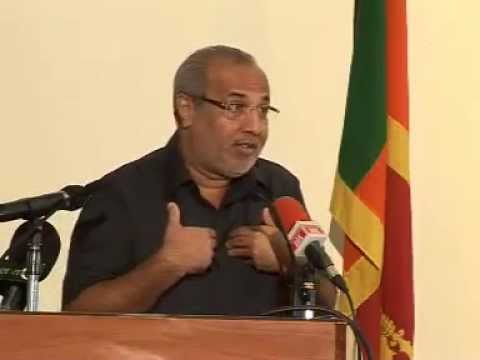 Rauff Hakeem made the Key note address  at the launch of the book