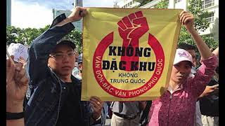 Thousands Protest in Vietnam Over Proposed SEZ Concessions,Hk Reading Book,