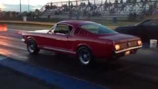 1966 Mustang fastback 1/4 mile 13.20
