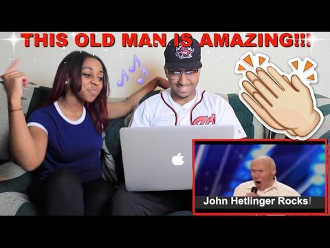 Couple Reacts Quot John Hetlinger Singing Let The Bodies Hit