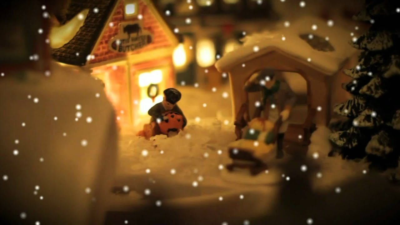 Free Snow Falling Wallpaper Warm Christmas With Snow Dreamscene Youtube
