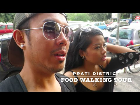ITALY HOTEL ROOM & WALKING FOOD TOUR VLOG!