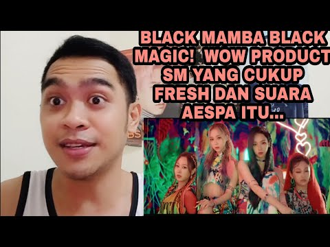 AESPA - BLACK MAMBA (MV)    FRESH,  TALENTED, AND WELL DONE   SINGER REACTION
