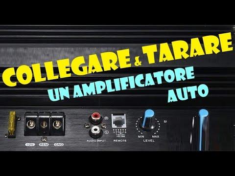 Collegare un amplificatore
