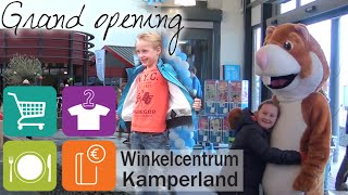 Grand opening Winkelcentrum Kamperland