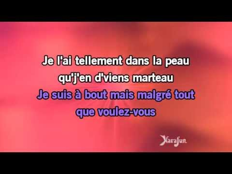Karaoké Mon homme - Mistinguett, Reine des années folles *