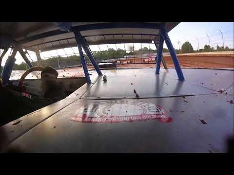 Brett McDonald Heat Race Sharon Speedway 7/28/18 In-Car