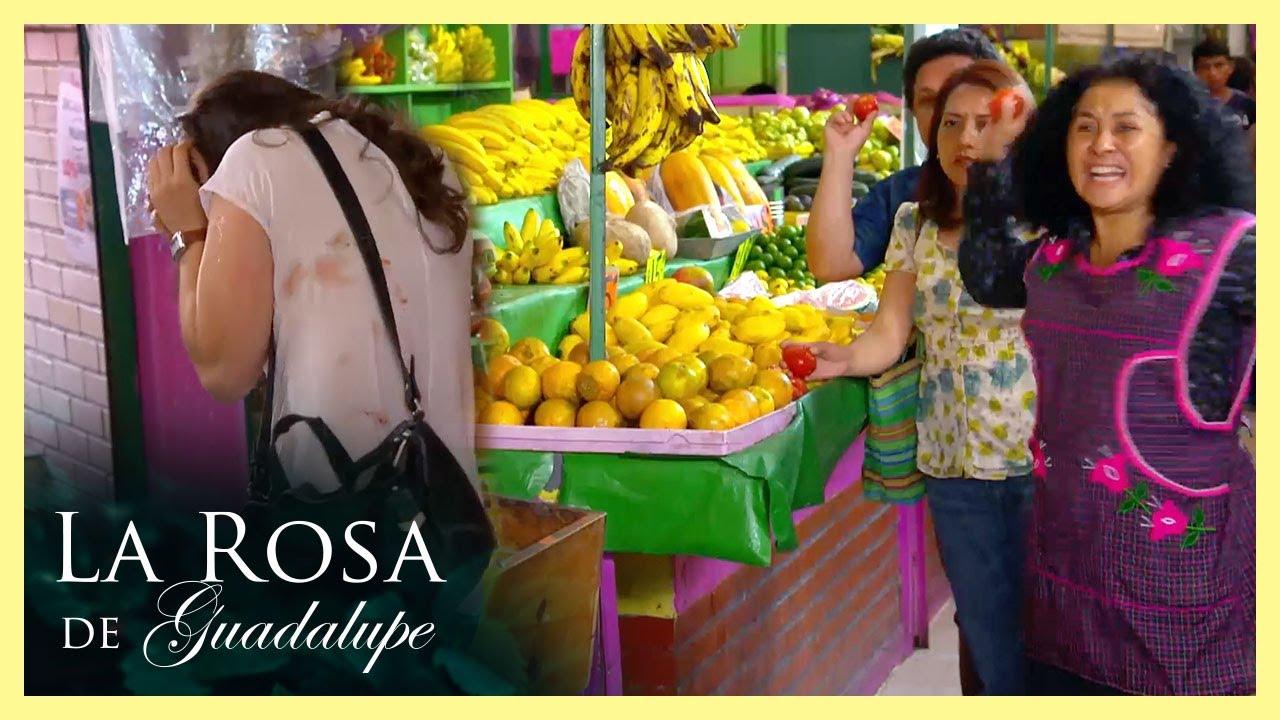 Download ¡Mayra es atacada a jitomatazos! | El amor no es cuestión de suerte | La Rosa de Guadalupe