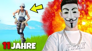 "GIRL plays against "" HACKER "" FORTNITE and that happens... 😱 1 VS 1 Subscribers Prank"