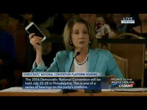 "Pelosi Claims Federal Research ""Invented"" The iPhone"