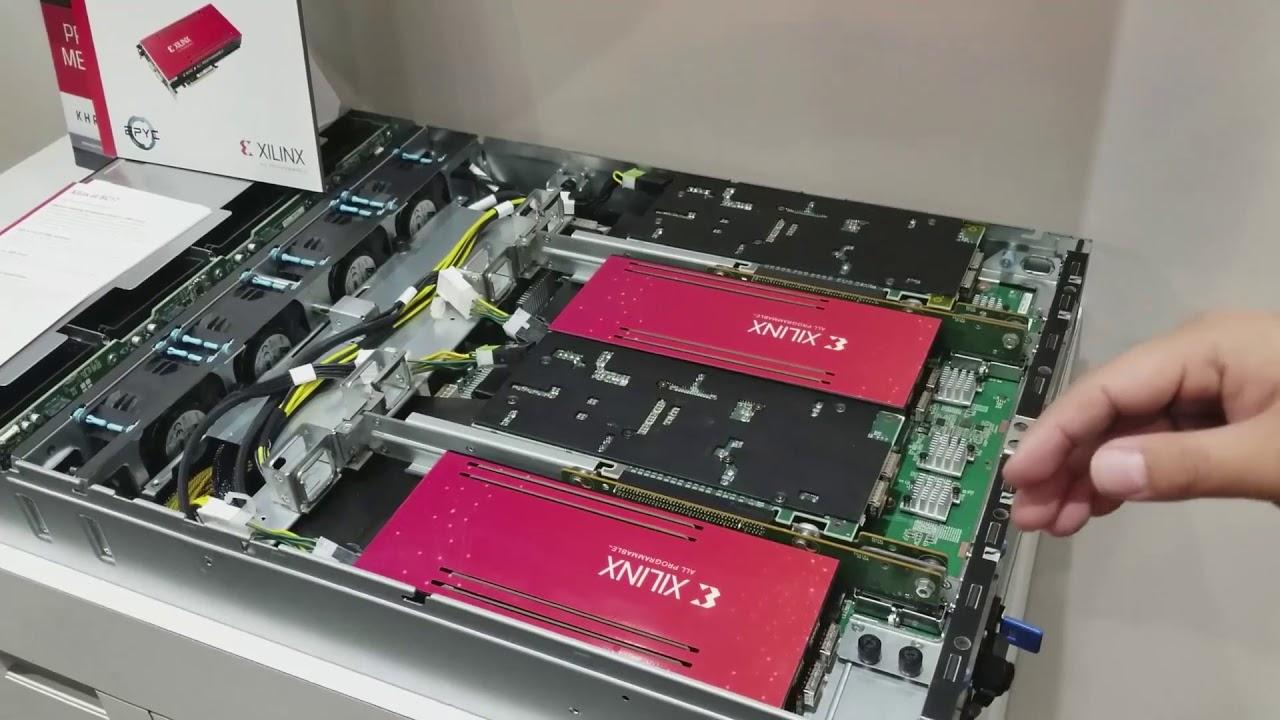 Xilinx FPGA And EPYC Server
