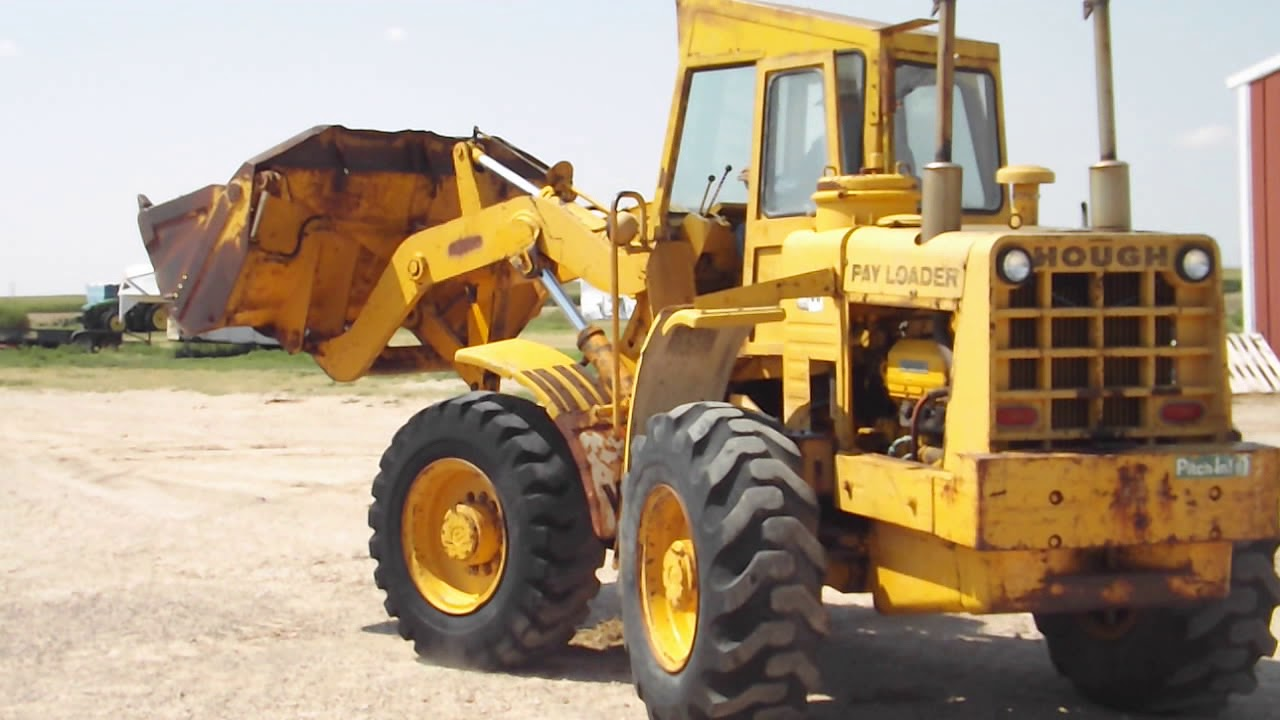 1972 International Hough H60B Wheel Loader BigIron Auctions