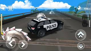 DEADLY RACE #6 Speed Police Car Bumps Challenge 3d Gameplay Android IOS by GimalJoke