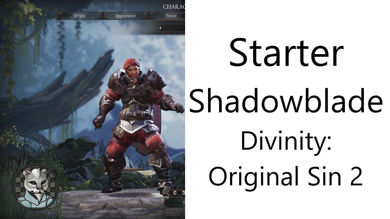 ✅ Basic Starter Shadowblade in Divinity: Original Sin 2