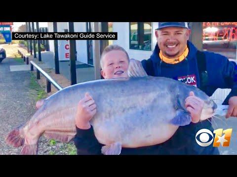 Jeff K - 13-Year-Old Texan Hooks 67-Pound Catfish In Lake Tawakoni