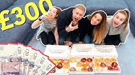 LAST TO STOP EATING KRISPY  KREME DOUGHNUTS WINS £300