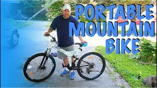 A Folding Full-Size Mountain Bike? Yes, Please!