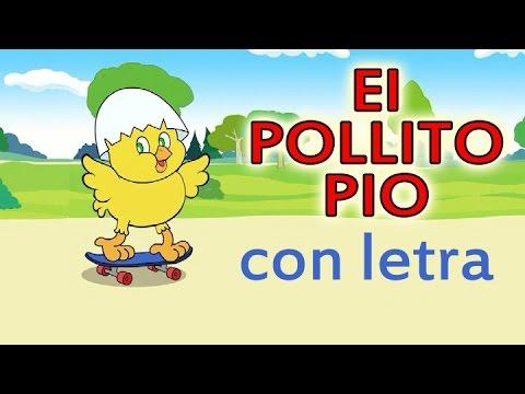 El POLLITO PIO con letra  en español - Canciones infantiles HD