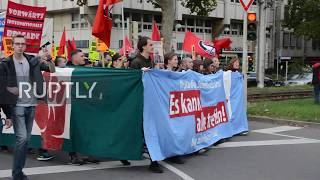 Germany: Antifa protest condemns proposed tightening of police laws in Stuttgart