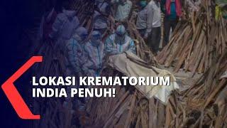 Download Lonjakan Pasien Covid-19 Tak Tertolong, Krematorium di India Kewalahan