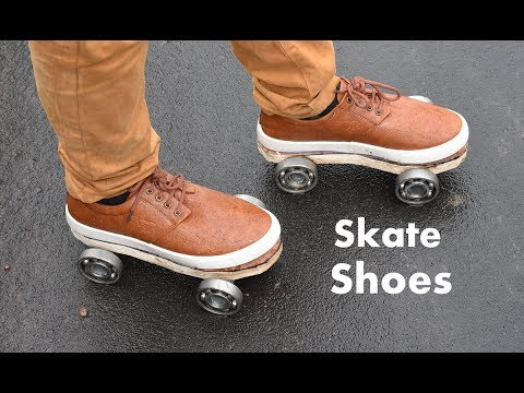 How To Make Roller Skate Shoes At Home Easy Way Youtube